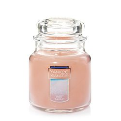 Yankee Candle Medium Jar Candle, Pink Sands