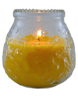 Armengol 2 Count Citronella Candles in Mason Jar, Mosquito Free, Outdoor and Indoor, 9 oz, Yellow