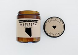Nevada Scented Candle Missing Home Homesick Gift Moving Gift New Home Gift No Place Like Home St ...
