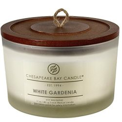 Chesapeake Bay Candle Heritage Coffee Table Scented Candle, White Gardenia