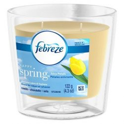 Febreze Candle Happy Spring Air Freshener 4.3 oz