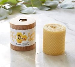 3″ Hand-Rolled Beeswax Pillar Candle – Little Bee of Connecticut, Martha Stewart Ame ...