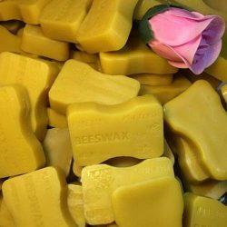 NPLE–ORGANIC Beeswax Cosmetic Grade Filtered Natural Pure Yellow Bees wax 1oz bars