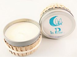 Soy Wax Candle, 100% Organic Bamboo Tree Scent . LaPixie Vida Aromatherapy Massage Candle for Ho ...