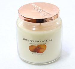 Scentsational Soaps & Candles Natural Soy Candle Pumpkin Spice