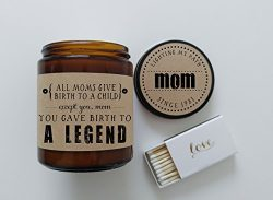 Funny Mothers Day Gift for Mom Birth to A Legend Funny Mom Gift for Mother Birthday Gift Mothers ...