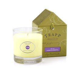 Trapp Signature Home Collection No. 60 Jasmine Gardenia Poured Scented Candle, 7-Ounce