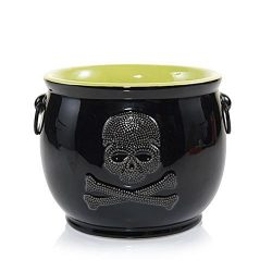 Yankee Candle Raven Night Skullcauldron Jar Candle Holder