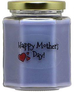 Just Makes Scents Happy Mother's Day Lavender Candle | Lavender Scented Soy Wax Candle | H ...