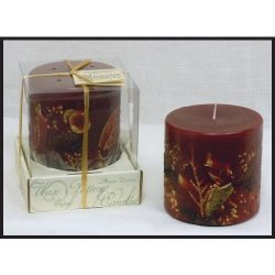 Habersham Candle Company Cranberry Spice Luminary, Made in the USA