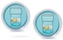 Yankee Candle 2 Pack Happy Spring Easy MeltCup. 2.2 Oz.
