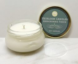 Abercrombie Fierce Scented Soy Candle – Handmade, 3.3oz