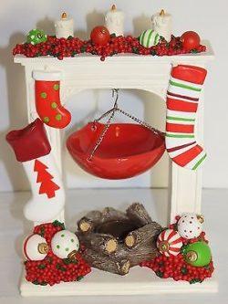 Holiday Stocking Tart Burner by Yankee Candle
