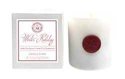 Baronessa Cali Winter Holiday (White Pine Spruce, Cedarwood) Candle