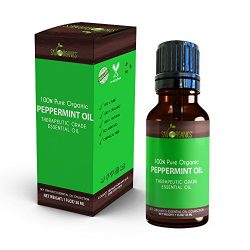 Best Peppermint Essential Oil By Sky Organics-100% Organic, Pure Therapeutic Grade Peppermint Oi ...