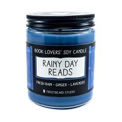 Rainy Day Reads – Book Lovers' Soy Candle – 8oz Jar