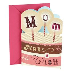 Hallmark Birthday Greeting Card to Mother (Cake with Candles)