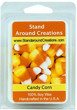 100% All Natural Soy Wax Melt Tart – Candy Corn: A warm vanilla candy with top notes of bu ...