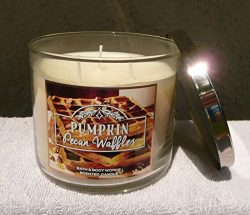 Bath&Body Works Pumpkin Pecan Waffles 3 Wick Scented Candle14.5oz