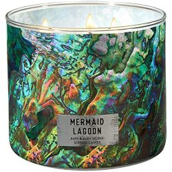 Bath and Body Works Mermaid Lagoon 3-Wick Candle