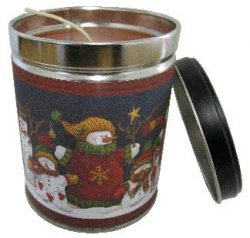 Our Own Candle Company Gingerbread Vanilla Scented Candle in 13 oz Tin with Snowman Label &#8211 ...
