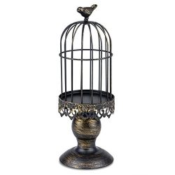 Candle Holder Metal Birdcage Vintage Candlestick Decoration Candle Stick Holder for Wedding Cent ...