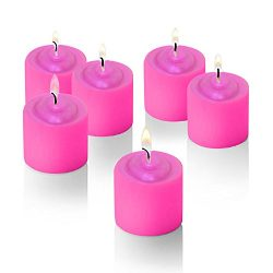 Rose Scented Candle with Flower Design on Top Set of 12 Valentines Candle Parties,fundraiser, We ...