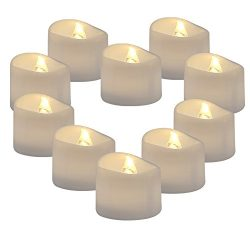 Raycare 36 PACK LED Flameless Tea Light Candles, Battery Tealight Candles, Warm White Realistic  ...