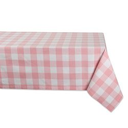 DII Cotton Buffalo Check Plaid Rectangle Tablecloth for Family Dinners or Gatherings, Indoor or  ...