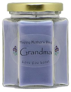 Just Makes Scents Grandma Mothers Day Candle – Lavender Scented Mothers Day Gift Candle &# ...