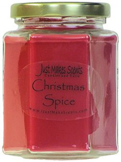 Christmas Spice Scented Blended Soy Candle by Just Makes Scents