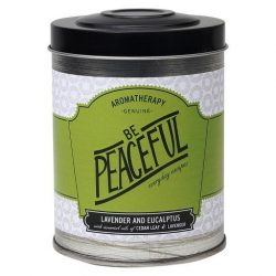 Tin Candle Be Peaceful 8.6oz – Aromatherapy
