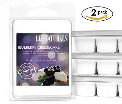 Lee Naturals Classic Collection – (2 Pack) BLUEBERRY CHEESECAKE Premium All Natural 6-Piec ...