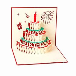 3D Birthday Pop Up Card and Envelope – Funny Unique Pop Up Greeting Card Gift for Birthday ...