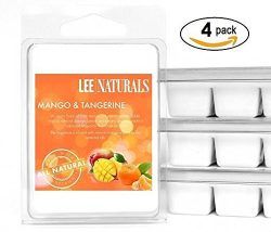 Lee Naturals Spring & Summer – (4 Pack) MANGO AND TANGERINE Premium All Natural 6-Piec ...