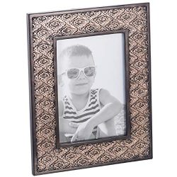Dublin 5 X 7 Picture Frame – Table Desktop Photo Frame Display with Glass Front & Ease ...