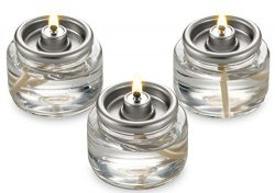 Candle Charisma Tealight Fuel Cells Liquid Paraffin 8 Hour Burn – in a Box – 20 Pack ...