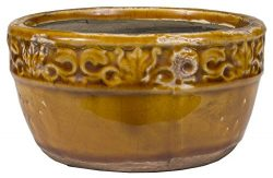Swan Creek Vintage Bowl Pumpkin Vanilla Pottery Candle, 17 Oz.