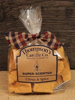 Thompson's Candle Co Super Scented Citrus & Spice Crumbles