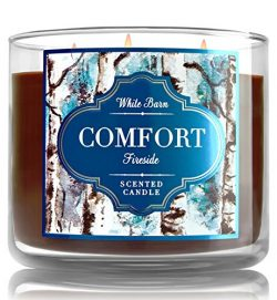 Bath and Body Works Fireside Comfort Candle – Large 3-wick 14.5 oz Candle – New Look ...
