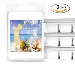 Lee Naturals Spring & Summer – (2 Pack) JAMAICA ME CRAZY Premium All Natural 6-Piece S ...