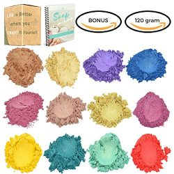 Fine Particles Mica Powder – Spring Sheer Illuminating Pigment – 120 Gram – Sl ...