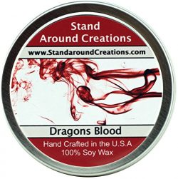 Premium 100% All Natural Soy Wax Aromatherapy Candle – 6 oz Tin – Dragon's Blo ...