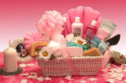 Ultimate Spa Bath & Body Gift Basket for Women