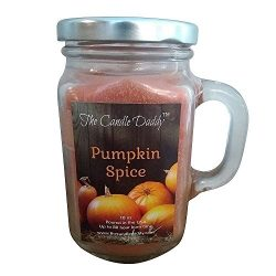 The Candle Daddy Pumpkin Spice – Fall Scene – scented candle – 80 hour burn ti ...