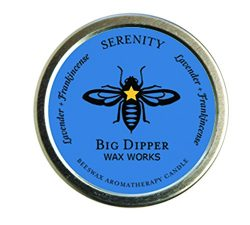 Pure Organic Aromatherapy Beeswax Tins – 1.7 Ounces – By Big Dipper Wax Works Inc. ( ...