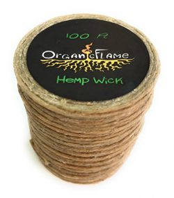 100Ft of Organic Hemp Wick by Organic Flame