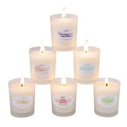 Anjou Scented Candle 6 Pack Gift Set, Aromatherapy Set of Fragrance Soy Wax, 15 Hours Burn Time  ...