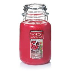 Yankee Candle Large Jar Candle, Red Raspberry
