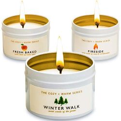 Gathering Place Specialty Homeware Soy Candle Scented Organic with Essential Oils Organic Kit fo ...